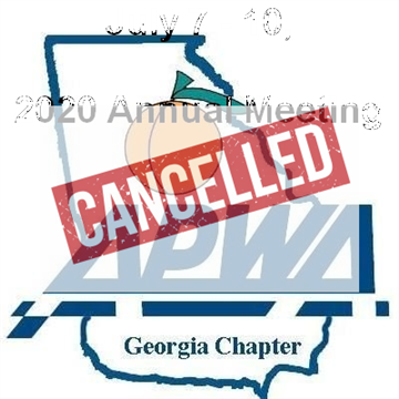 It is with regret to announce the 2020 Georgia APWA Annual Meeting is canceled.
